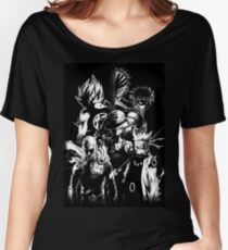 anime mix  Women's Relaxed Fit T-Shirt