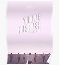BTS / Bangtan Sonyeondan - Junge für immer (Pink) Poster
