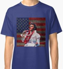 Elvis in Aloha white suit  Classic T-Shirt