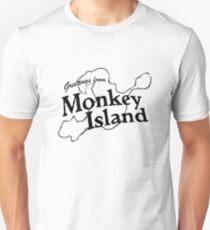 GREETINGS FROM MONKEY ISLAND Unisex T-Shirt