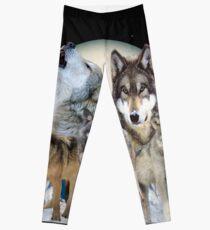 Wolf Leggings
