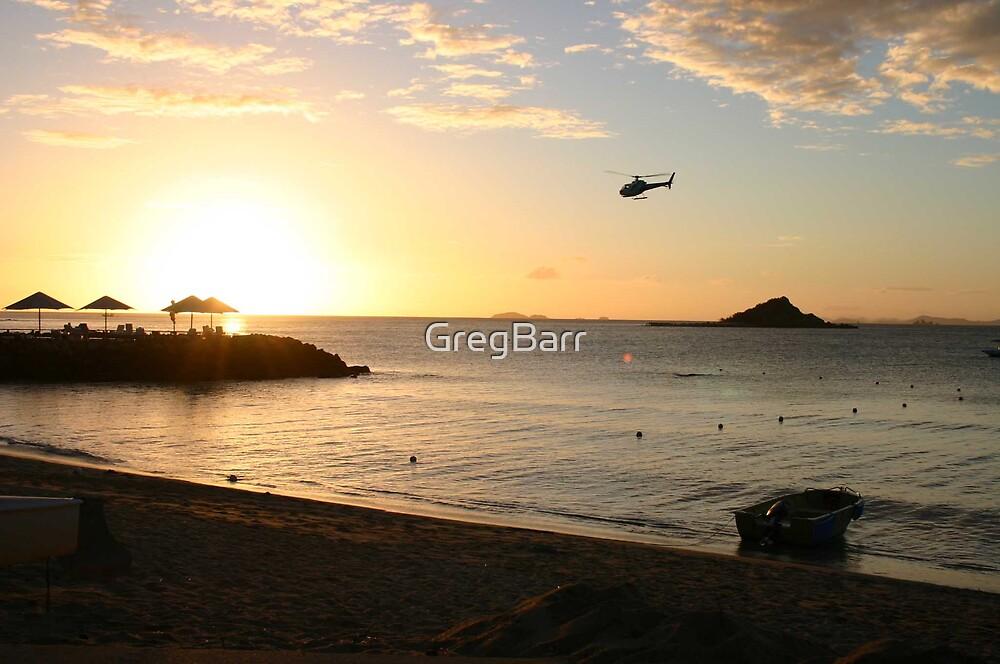 Brampton Island at dusk by GregBarr