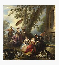 Joseph Parrocel - The Return From The Hunt Photographic Print
