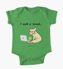 I need a break by Frenchie Love One Piece - Short Sleeve