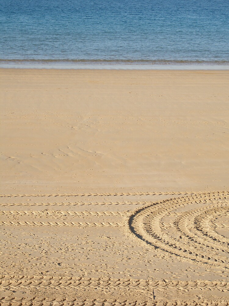 Sand Tracks by Carly Michael