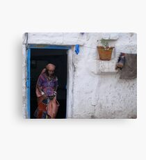 Indian Abode Canvas Print
