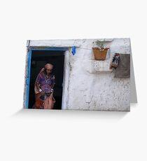 Indian Abode Greeting Card