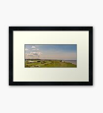 """Sheringham - The place to play Golf"" Framed Print"
