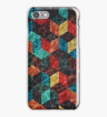Colorful Isometric Cubes II iPhone Case/Skin