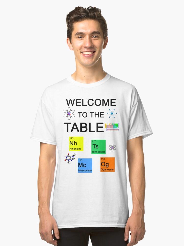 Nihonium tennessine moscovium oganesson new periodic table nihonium tennessine moscovium oganesson new periodic table elements classic t shirt urtaz Images
