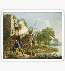 Joseph Wright Of Derby - The Old Man And Death Sticker