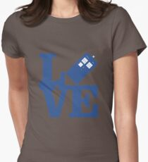Love Doctor Who Womens Fitted T-Shirt