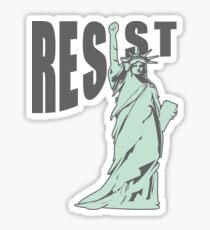 Lady Liberty Resist Sticker