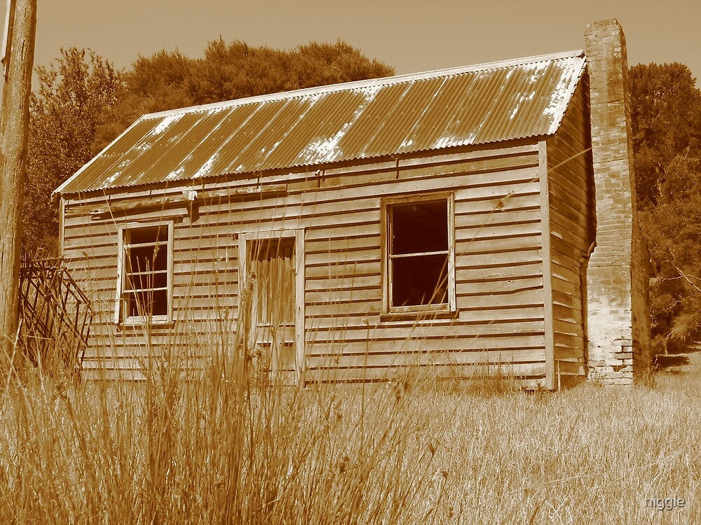 Shearers Quarters at Whitimanuka by niggle