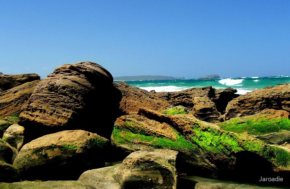 Beach Boulders by Jaroadie