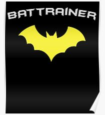 BATTRAINER - Super Hero Fitness Gym Trainer Poster