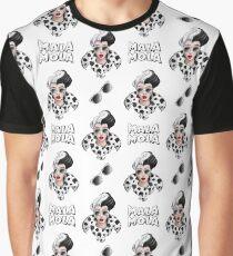 Cruella de Vil (Mala Mola) Graphic T-Shirt