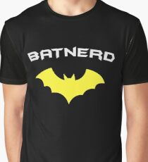 BATNERD - Super Hero Nerd Geek  Graphic T-Shirt