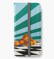 Magpie Apricots iPhone Wallet