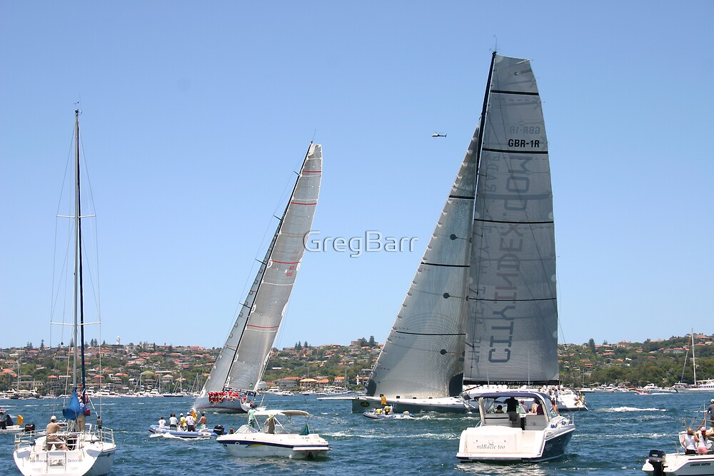 Sydney _ Hobart start 2007 by GregBarr