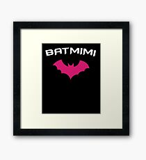BATMIMI - Proud MIMI GrandMother Super Mimi Hero Framed Print