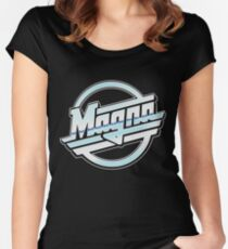 Magna Women's Fitted Scoop T-Shirt
