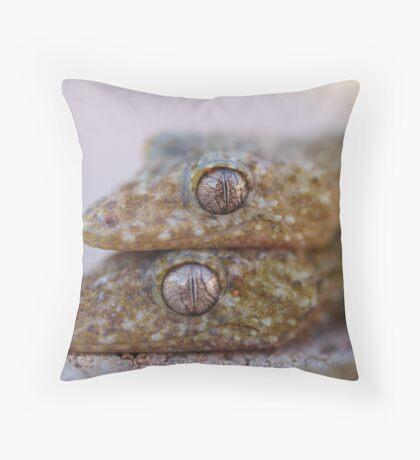 Broad Tailed Gecko Australia Throw Pillow