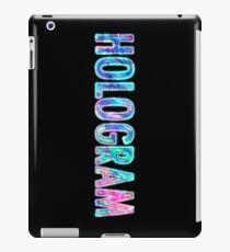 Hologram iPad Case/Skin