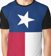 TEXAS, Lone Star, Texas Flag, FULL COVER, Flag of the State of Texas, USA, America, American Graphic T-Shirt