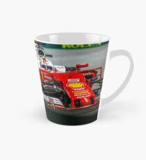 Sebastian Vettel formula 1 Tall Mug