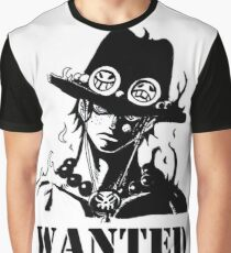 Ace : Wanted Graphic T-Shirt