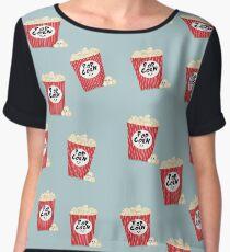 Cute Popcorn Chiffon Top