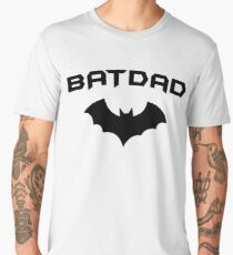 BATDAD - Proud Dad Father Super Dad Hero  Men's Premium T-Shirt