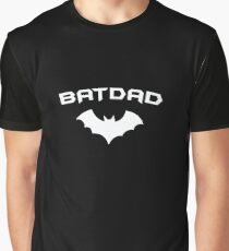 BATDAD - Proud Dad Father Super Dad Hero  Graphic T-Shirt