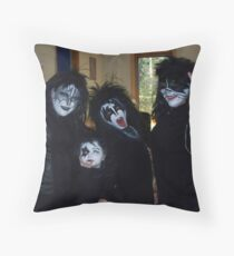 KISS in Cape Breton Throw Pillow