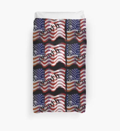 Stars And Stripes ll Duvet Cover