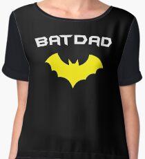 BATDAD - Proud Dad Father Super Dad Hero  Chiffon Top
