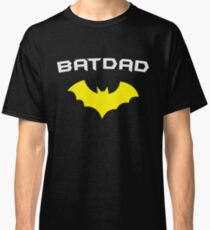 BATDAD - Proud Dad Father Super Dad Hero  Classic T-Shirt