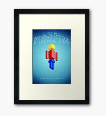 PixelFigs Assemble! Framed Print