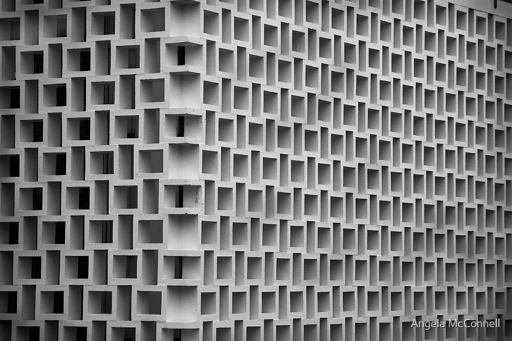 Honeycomb - War Memorial Hall, Wanganui, NZ by Angela McConnell