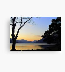 Loch Lomond Sunset Canvas Print