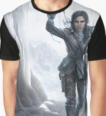 Lara in the Ice Graphic T-Shirt