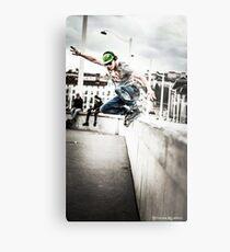The fool roller Skater  Metal Print