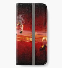 Hot Music Notes iPhone Wallet/Case/Skin