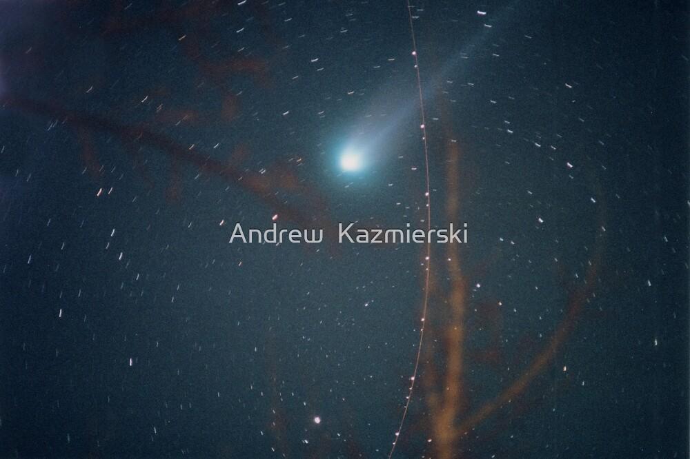 Comet Hyakutake 1996 by andykazie