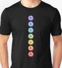 Donuts Chakras Chart  Unisex T-Shirt