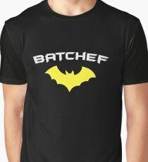 BATCHEF - Super Hero Chef Cook  Graphic T-Shirt