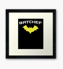 BATCHEF - Super Hero Chef Cook  Framed Print