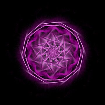 Pink and Purple Mandala by JadaSkyeNichols