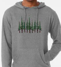 Sudadera con capucha ligera Los árboles de hoja perenne